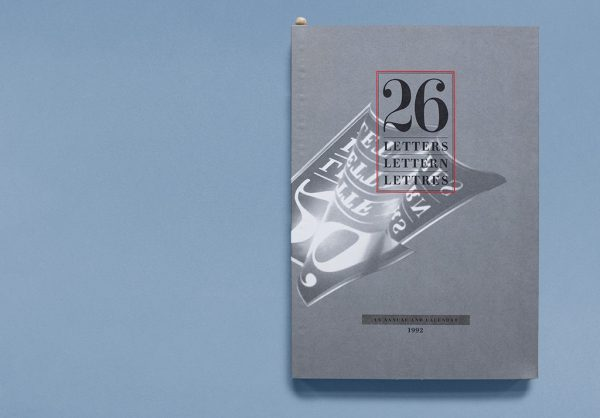 26 Lettern Cover